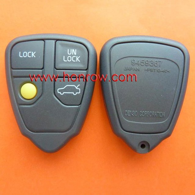 For Volvo 4 button remote key blank