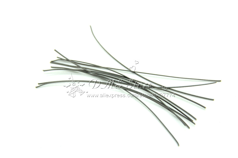 Newest Flat coil wire 120MM heating Wire Electronic Cigarette 10pcs in a Tube for Vapor Premade