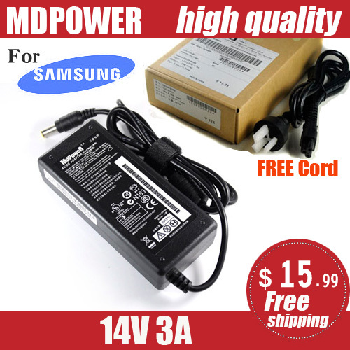 MDPOWER For Samsung LCD monitor power AC adapter AP04214-UV 14V 3A charger Cord(China (Mainland))