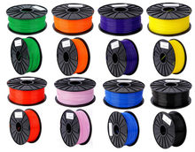 High Quality All kinds of Colours 3D Printer Filaments Material ,1.75/3mm ABS / PLA