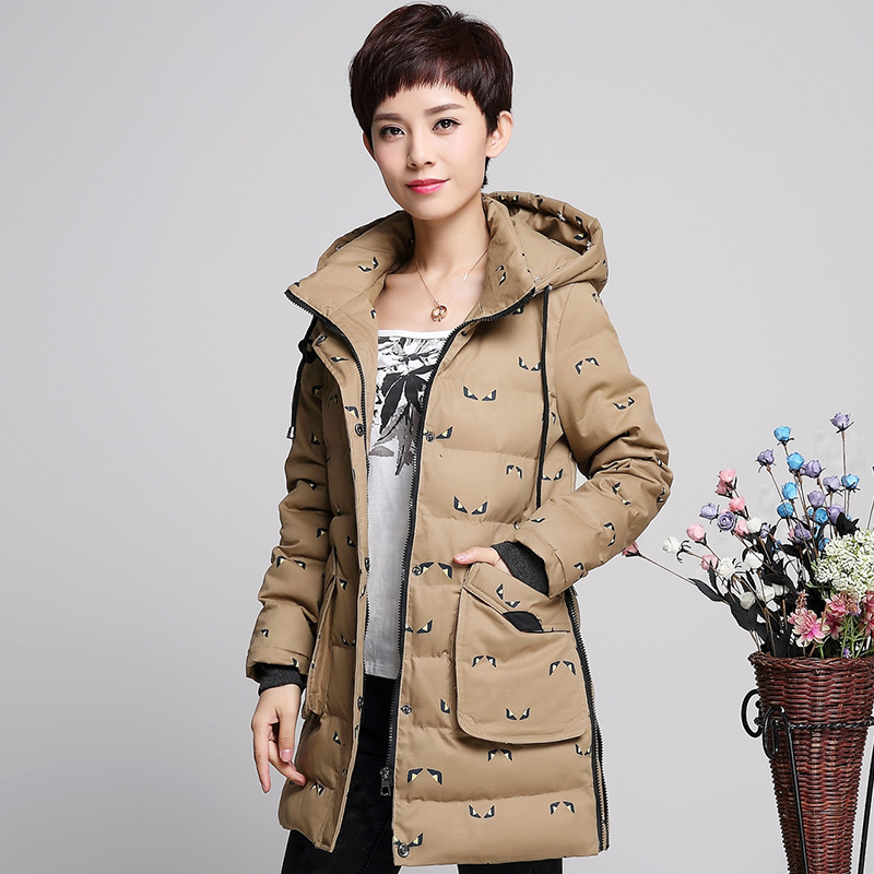 Casual Winter Jacket Women 2016 New Big Fur Hooded Parka Cotton Padded Down Women's Winter Jacket Plus Size S-XXXXL AW0133(China (Mainland))
