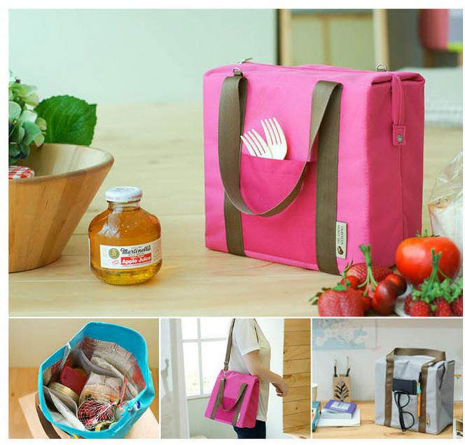 2016 Summer Hot Portable Leisure Cooler Bags Waterproof Ice Food Lunch Milk Storage Bag Picnic Organizer Sorting Handbag(China (Mainland))