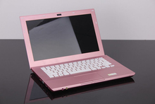 Laptop Computer Pink 13.3 Inch HD 1366×768 LED Screen Dual Core Notebook Intel Celeron 1037U 1.8GHz 4GB DDR3 500GB HDD With DVD