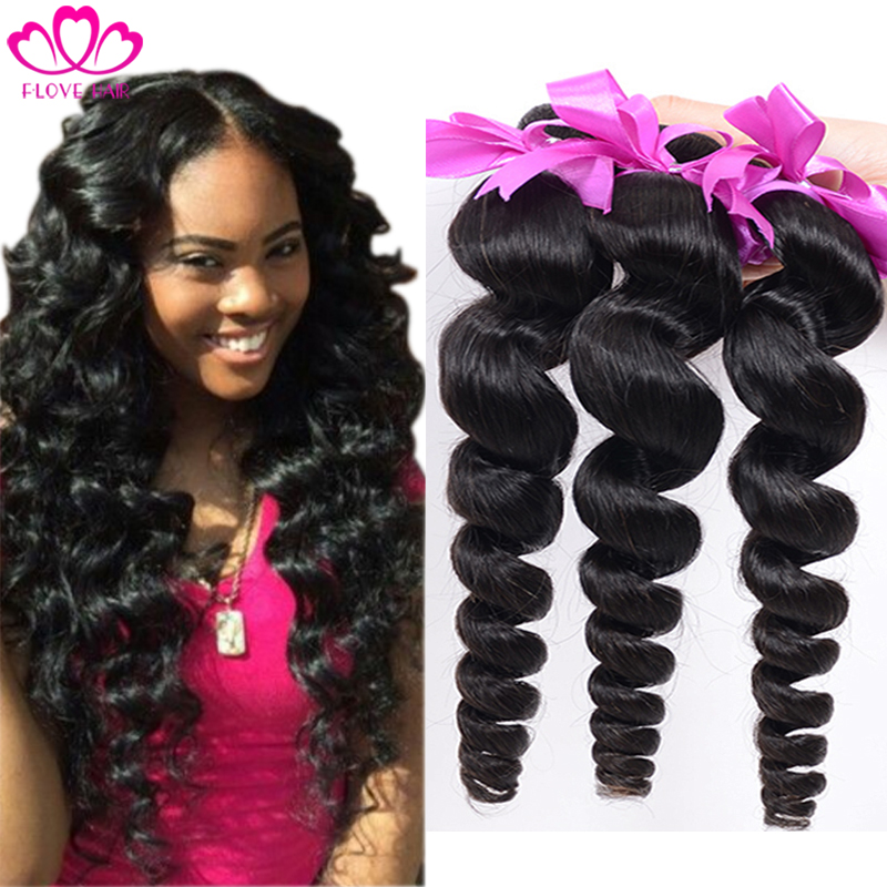 Peruvian Loose Wave 4pcs/lot Peruvian Virgin Hair Cheap Human Hair Loose Wave  6A Unprocessed Virgin Peruvian Hair