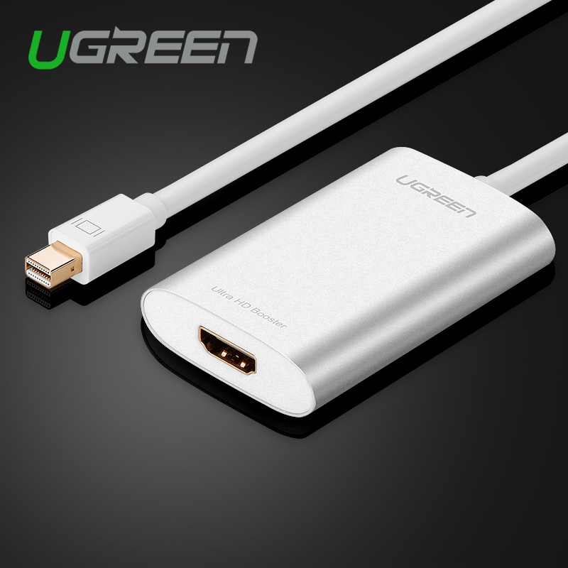 Ugreen Thunderbolt Mini DisplayPort To HDMI Adapter Cable Display Port DP Cable For Apple MacBook Air Pro iMac Mac Surface Pro(China (Mainland))