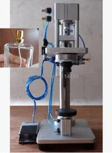 Pneumatic Perfume Bottle Crimping Machine Capping Machine Lid Cap Locking Machine(China (Mainland))