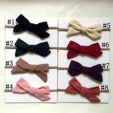 Buy 8 pcs/lot Kids Cute Knot Elastic Hair band star dot Hair Accessories Cotton Headband Ring Hair Headbands girls hairwear for $8.79 in AliExpress store