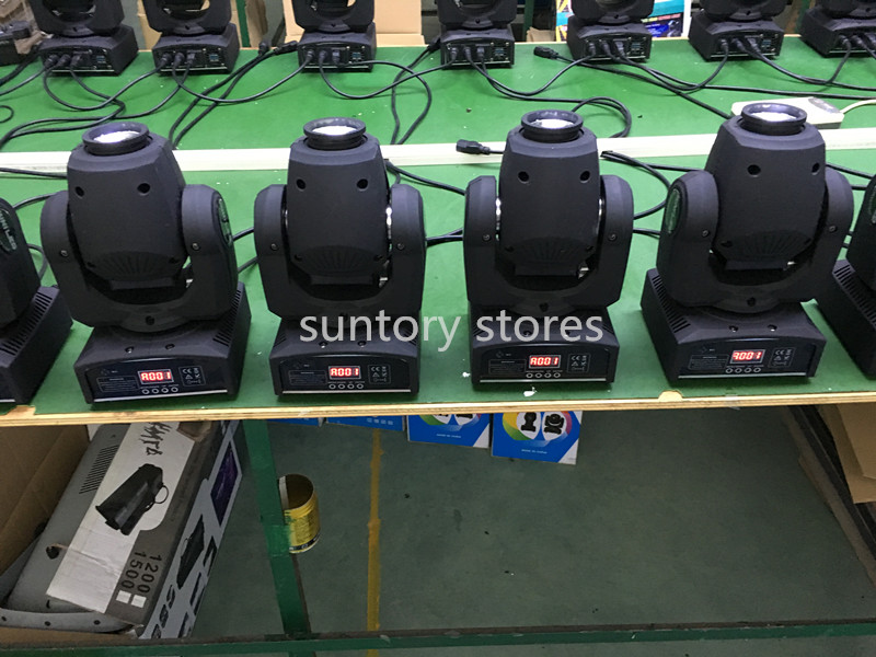 10pcs/lot DMX Spot Moving head light 30w moving head gobo light with dmx 9/11 Channels Free Shpping(China (Mainland))