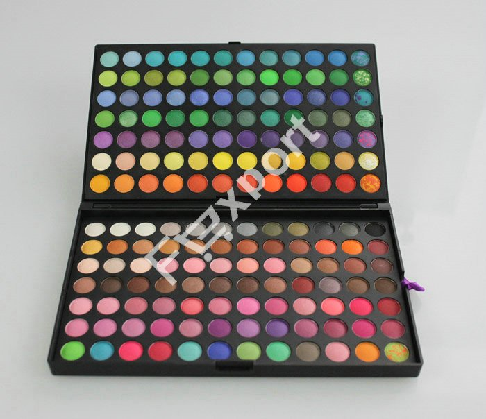 168 Colors Eye Shadow Eyeshadow Mineral Cosmetic Professional Makeup Palette Set BE07-1(China (Mainland))
