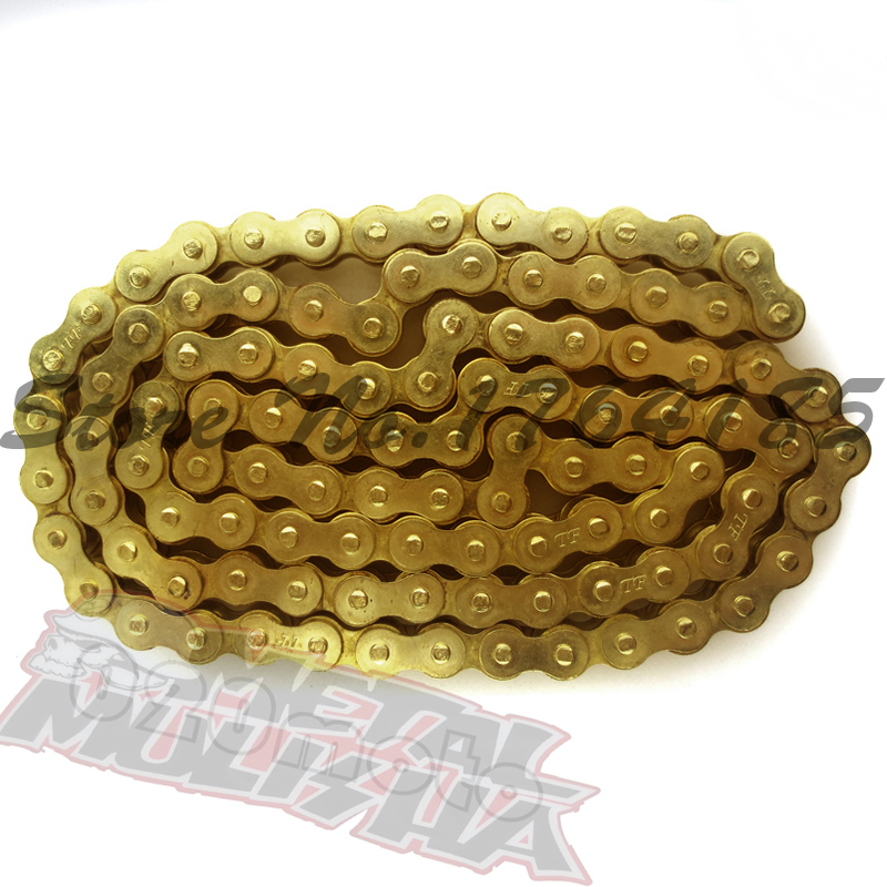 NEW HEAVY DUTY 428 102 LINKS GOLD O-RING CHAIN 428-102<br><br>Aliexpress