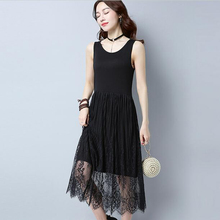 Buy Summer New Style Maxi Long Dress Women Fashion Casual Sleeveless Gauze dress Vintage Party Vestidos Ladies plus size long dress for $7.66 in AliExpress store