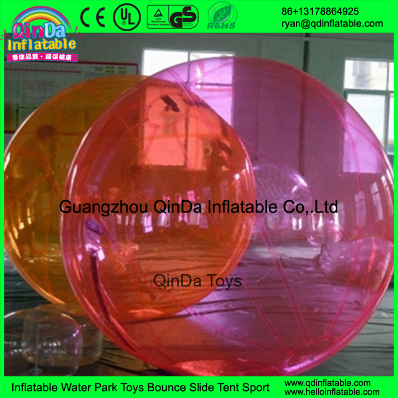 Summer Kids Games For outdoor adults inflatable water bubble ball/water walking ball/water ball(China (Mainland))