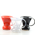 1PC Free shipping Clever cup coffee dripper follicular style coffee pot lounged coffee bowl V60 Coffee