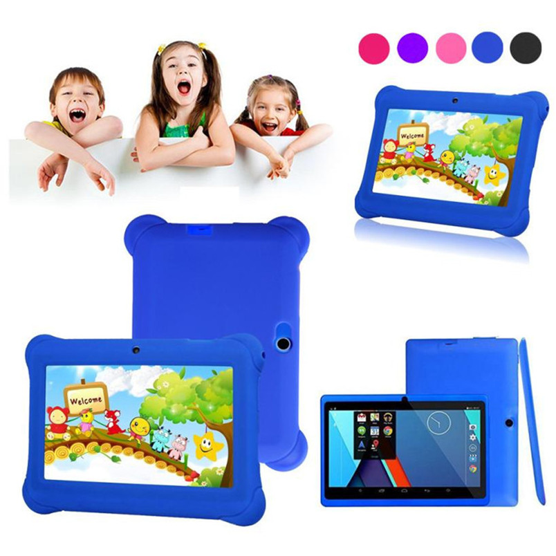 """Reliable Kids Tablet PC 7"""" Android 4.4 Case Bundle Dual Camera 1.2Ghz Wi-Fi Bonus Items(China (Mainland))"""