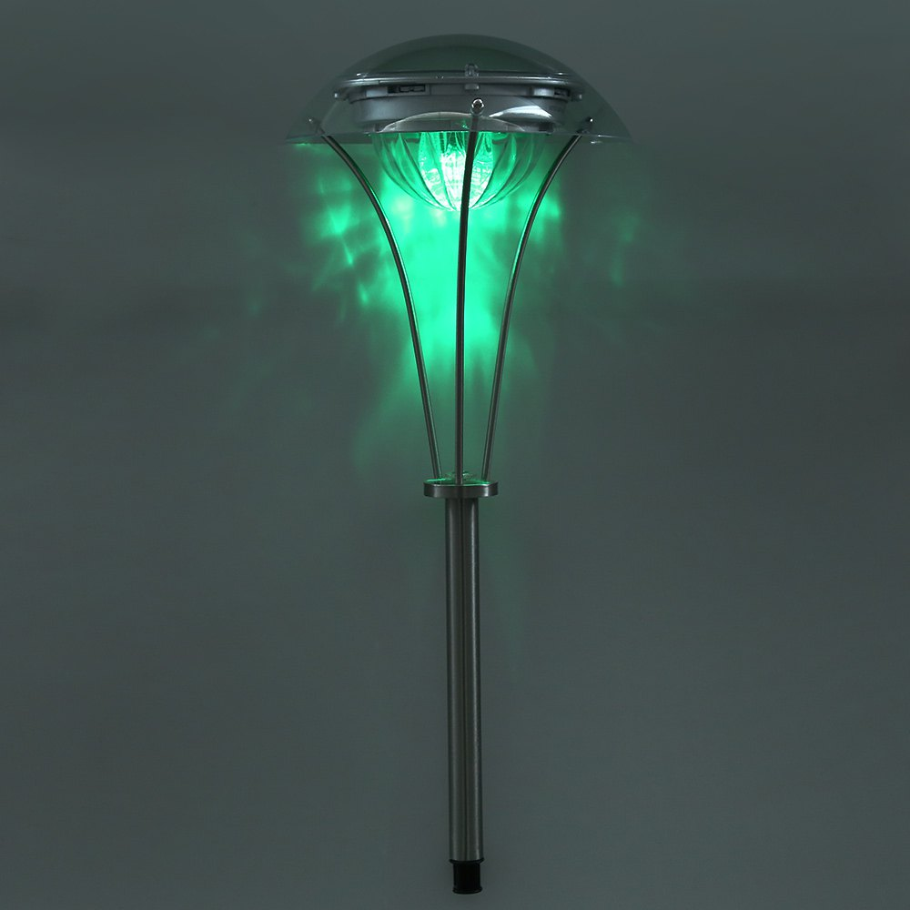 Best Selling LED Solar Lamp Solar Yard Grass LED Stake Color Changing Decoration Lamp Environmental Friendly For Garden Pathway(China (Mainland))