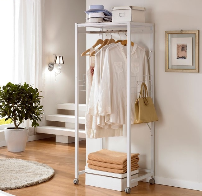 Floor coat rack shelf Residential furniture Shelf bedroom simple fashion  glove hanging clothes rack IKEA creative. Clothes Rack For Bedroom
