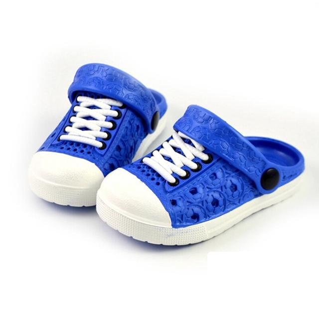 Для детей тапочки мальчики девушки сандалии лета удобные тапочки дети обувь мальчиков ...