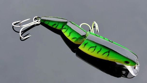 Free Shipping 3 Sections Minnow Fishing Lure 10cm 18g pc Floating Lures Hard Bait 4pcs pack