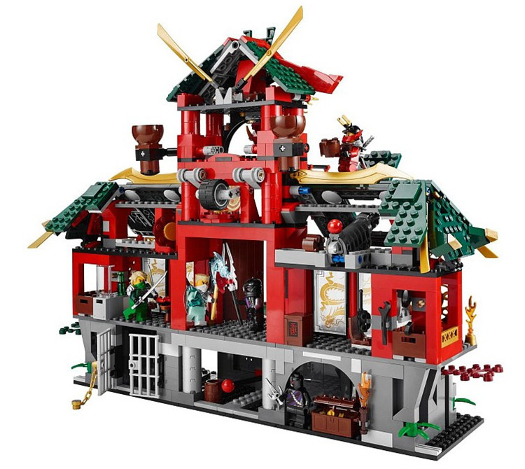 Bela 9797  Thunder Swordsman Minifigure 1223Pcs  Building Block Toys for children boys toys 6 years above