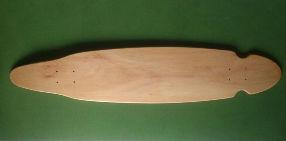 Wholesale 3pcs OEM Blank Skateboard Deck Maple 41 1/2 Longboard Flat-Plate Deck DIY Patterns Decks(China (Mainland))