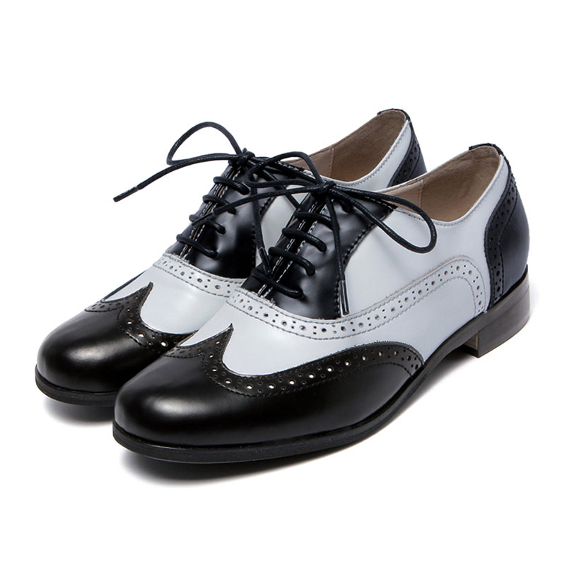 plus size 42 oxford shoes for 2016 genuine leather