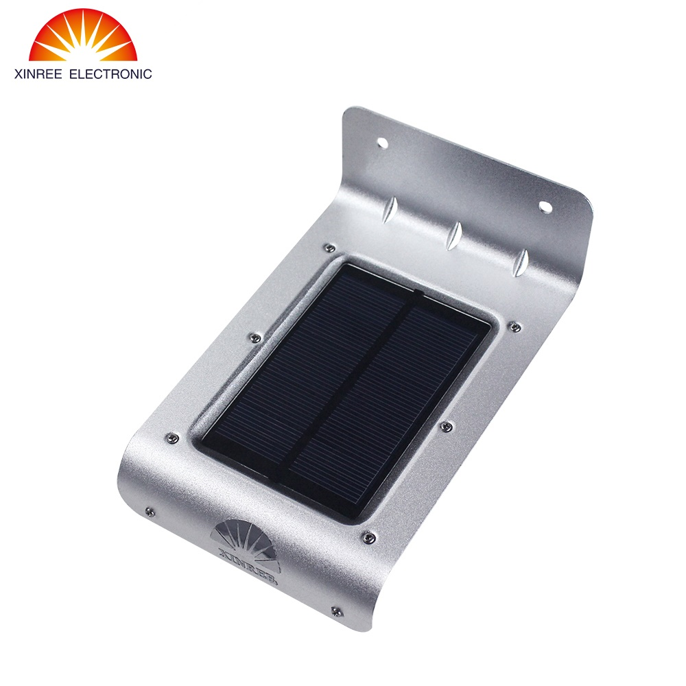 Promotion XINREE Outdoor Waterproof Bright Solar Light 16 LEDs Wireless PIR Motion Sensor Light/ Wall lights/ Security lights(China (Mainland))