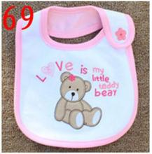 Baby Bibs Cotton Bandana Bibs Infant Babador Saliva Bavoir Towel baberos bebes Babadores Newborn Baby Girls Boys 1pcs/lot  xwd69