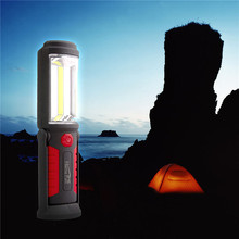 Hot Super Bright USB Charging LED Flashlight Torch Work Stand Light Magnetic+HOOK +Mobile Power for Your Phone Outdoor(China (Mainland))
