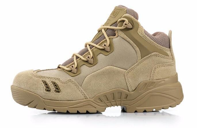 Hot Men's Jungle Boot Desert Tactical Combat Boots Outdoor Hiking Shoe
