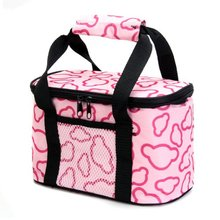 2016 New Fashion Portable Insulated Canvas lunch Bag Thermal Food Picnic Lunch Bags for Women kids Men Cooler Lunch Box Bag Tote