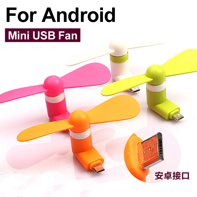 2016 5 pin Cooling Fan Ventilator Electronic Gadget Cooler Portable Mini Fan For Android Cell Phone(China (Mainland))