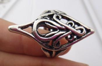 Freeshipping Finger ring silver ring elrond ring accessories