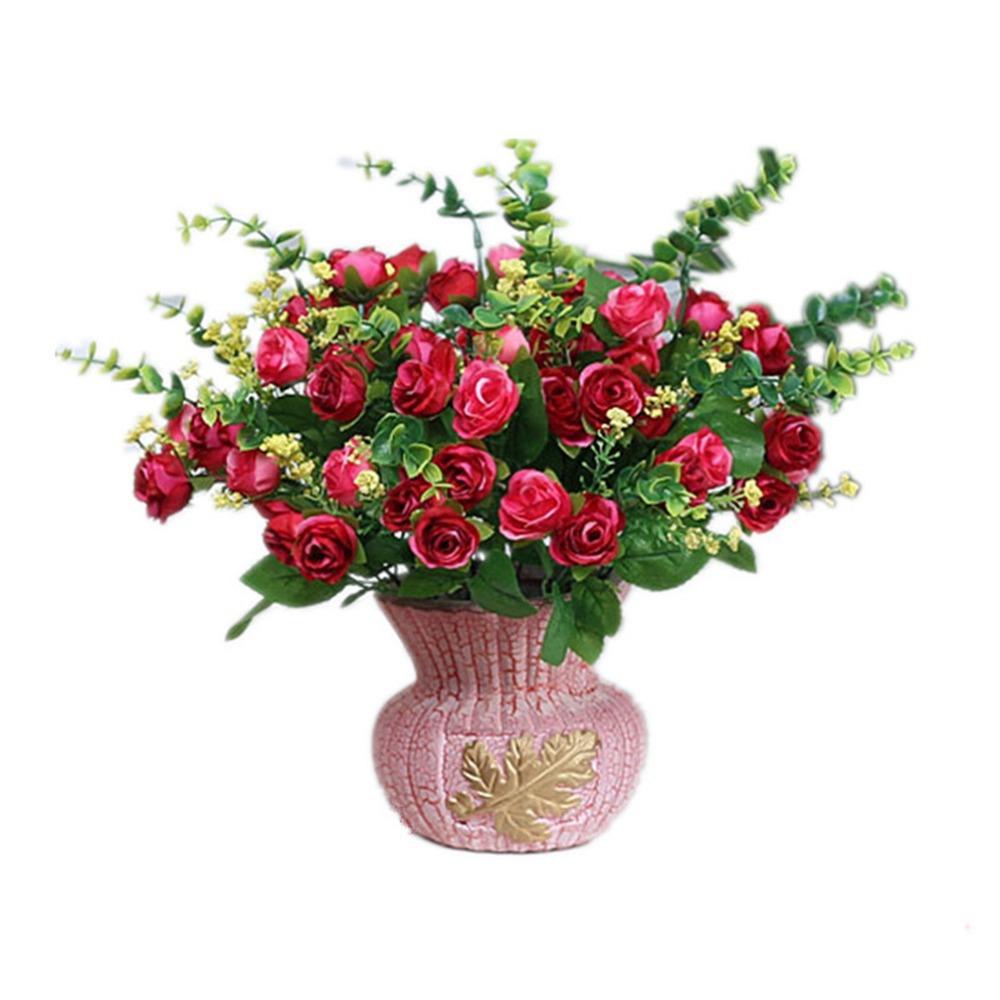Itemship künstliche blumen arrangement einzigartige rose ...