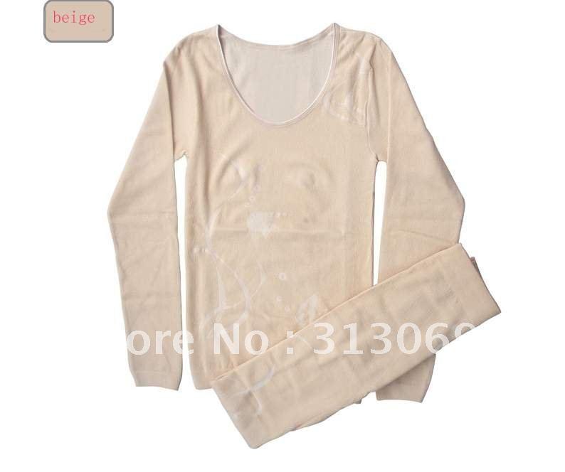, cotton+modal thermal underwear,seamless underwear - david wu's store