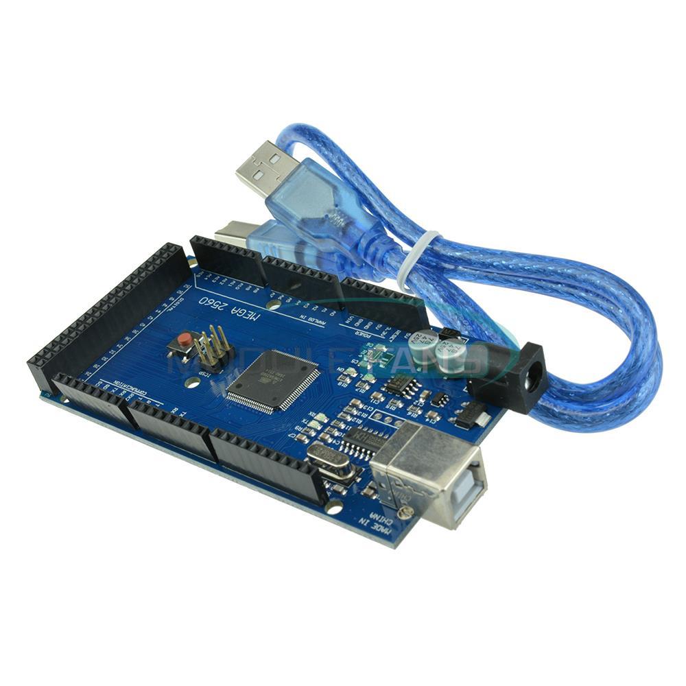 Гаджет  For Arduino Compatible Atmega2560-16AU CH340G ATMEGA 2560 R3 Board Mega2560 R3 None Электронные компоненты и материалы