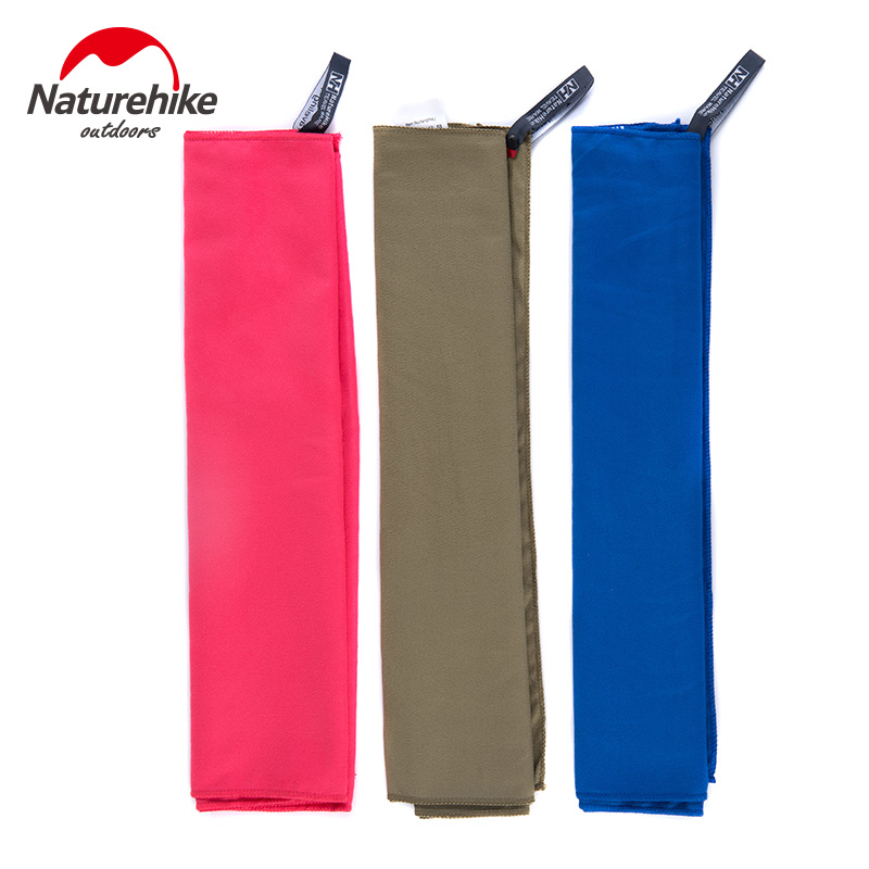 Naturehike Microfiber Antibacterial Quick Dry Towel Compact Travel Sports Camping Swimming Hand Face Beach Bath Shower