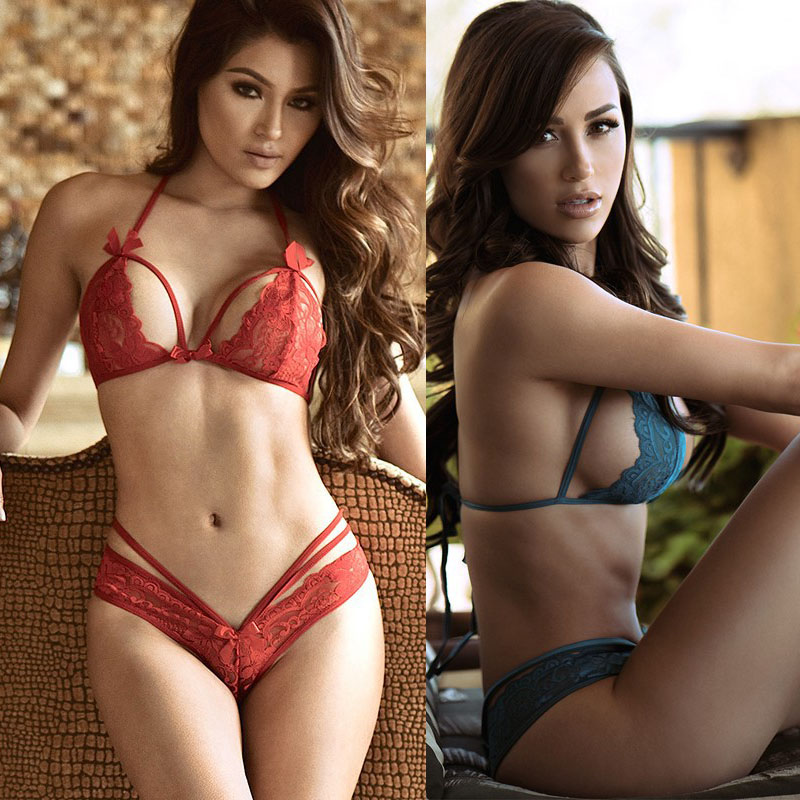 New woman Butterfly Three Point Sets Lingerie Erotic Lingerie Teddy Sexy Underwear Sexy Costumes Sexy Lingerie THREE013(China (Mainland))
