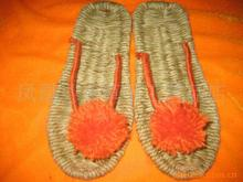 Supply handmade sandals slippers hemp shoes wholesale sandals shoes straw crafts