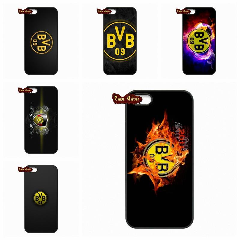 Borussia Dortmund BVB09 FC Logo Case Cover For LG Nexus 5 D820 D821 E980 Sony Xperia Z Z1 Z2 Z3 Z3 Z4 Z5 Compact M2 C C3(China (Mainland))