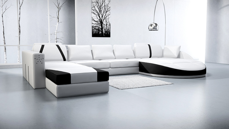 Small corner sofa for living room modern leather corner Sofas for small living room