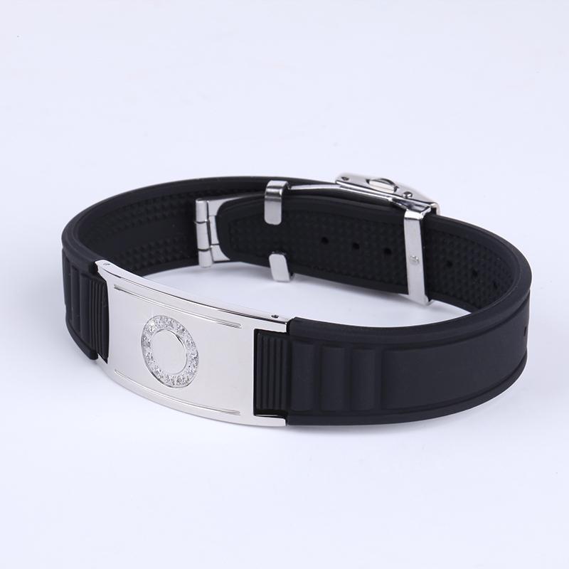 Infinity Ion Bracelet Noproblem Sb90d001 Titanium Therapy