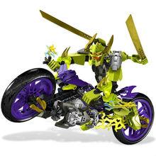 Decool 10188 súper Hero Factory 4.0 star soldier war Speeda Demon motocicleta 3D figuras de acción juguetes del bloque hueco juguetes para los niños