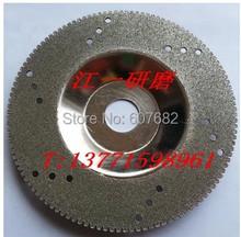 Hoja de diamante de carburo at buen precio y rápido delivery100x16mm y grit 120 cortar baldosas de vidrio aleación de corte de mármol