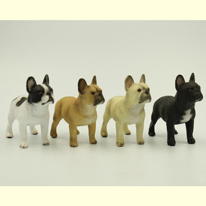 HOT resin French bulldog artificial model figure,car styling toy home room decoration,bull dog collection article birthday gift(China (Mainland))