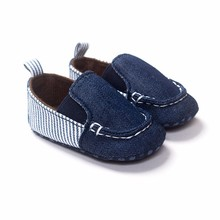 New Arrival High quality Fashion baby shoes Fabric excellent Soft sole for learning Walkers imitate Denim cute baby shoes(China (Mainland))
