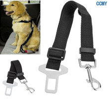 1pcs Adjustable Pet Cat Dog Car Safety Belt Collars Pet Restraint Lead Leash travel Clip Car Safety Harness Free Shipping(China (Mainland))
