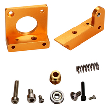 3D Printer MK8 Extruder Aluminum Block DIY Kit for Makerbot Dedicated Single Nozzle Left Hand BI091