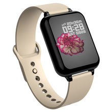 696 B57 montre intelligente IP67 étanche smartwatch moniteur de fréquence cardiaque plusieurs sport modèle fitness tracker homme femmes portable(China)