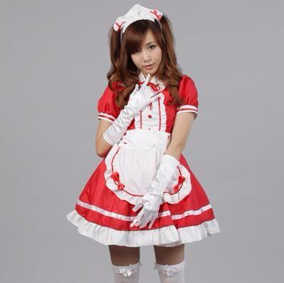 DB23978 sissy maid uniform-17