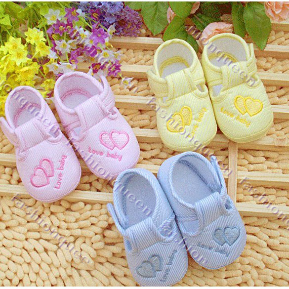 Гаджет  New Cotton Lovely Baby Shoes Toddler Unisex Soft Sole Skid-proof 0-12 Months Kids infant Shoe 3 Colors 13108 None Детские товары